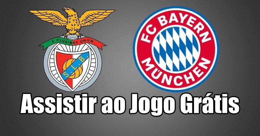 Como Assistir ao Jogo Benfica Bayern Munique Online grátis
