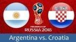 Argentina vs Croácia – Análise do Jogo