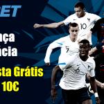 Aposta Grátis de 10€ para o França vs Croácia