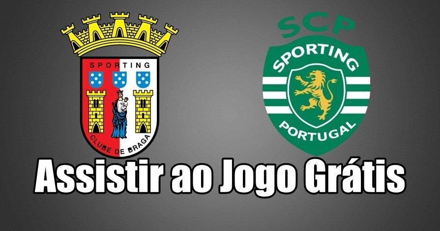 Braga vs Sporting: Como assistir ao jogo ao vivo grátis