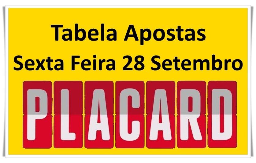 Placard portugal apostas