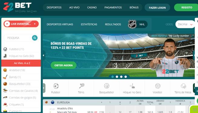 Site apostas desportivas portugal