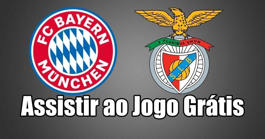 Como Assistir ao Jogo Bayern Munique Benfica Online grátis