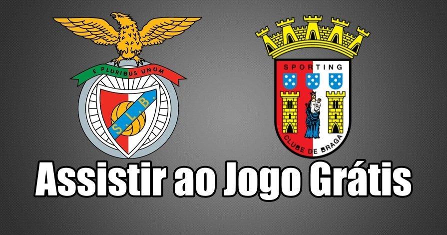 Benfica vs Braga: Como assistir ao jogo online