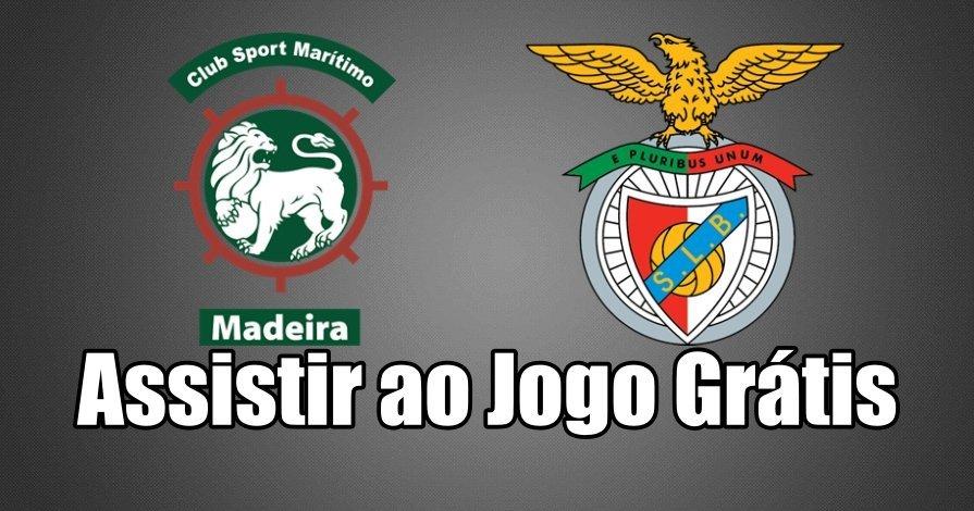 Assistir ao Jogo Marítimo vs Benfica ao vivo grátis