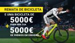 Não hesites – ganha uma bicicleta no valor de 5000€ + 5000€ de prémios em dinheiro