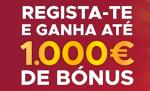Bónus de Depósito de Boas-Vindas de 1.000€