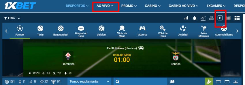 Fiorentina Benfica online grátis - Vê o jogo em qualquer dispositivo móvel