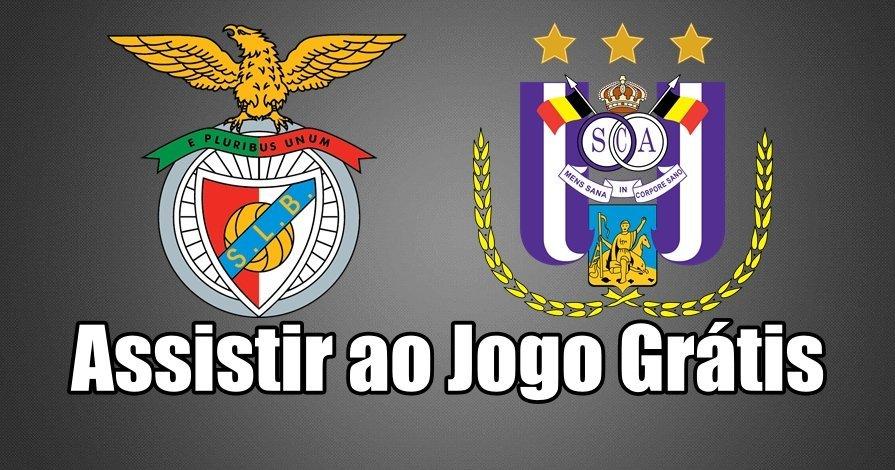 Assistir jogo Benfica – Anderlecht na BenficaTV ao vivo em HD Grátis
