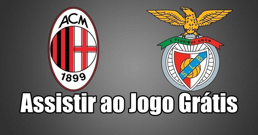 Assistir jogo Milan vs Benfica na BenficaTV ao vivo em HD Grátis