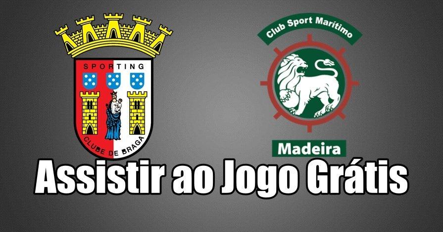 Ver jogo Braga vs Marítimo Grátis