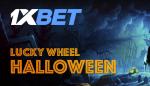O 1xBet Lucky Wheel Halloween oferece prémios incríveis!