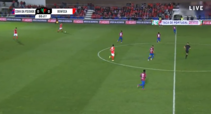 Cova da Piedade Benfica online grátis - Vê o jogo nos dispositivos móveis