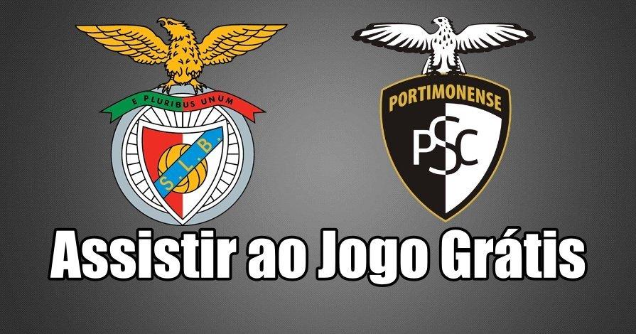 Ver jogo online Benfica vs Portimonense Grátis