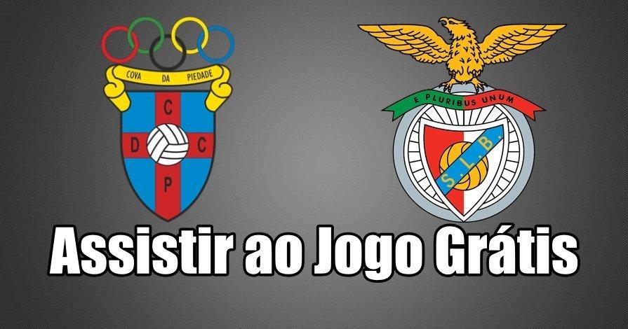 Ver jogo online Cova da Piedade vs Benfica Grátis