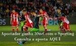 Regresso às vitórias do Sporting ajudou apostador a ganhar 30 mil euros