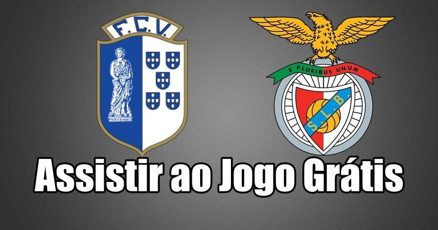 Ver jogo online Vizela – Benfica Grátis
