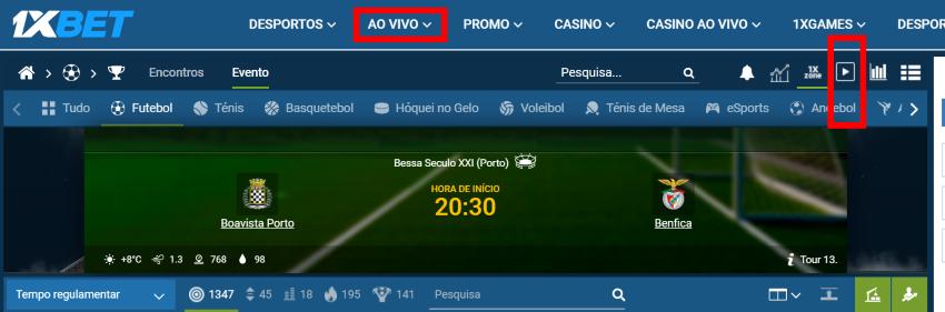 jogo Boavista Benfica online grátis - Vê o jogo nos dispositivos móveis