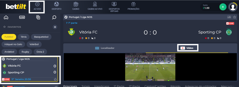 Ver Vitória Setúbal Sporting online grátis. Assiste nos dispositivos móveis