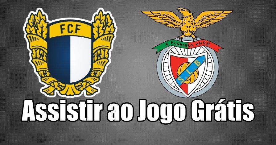 Assistir ao Jogo Famalicão vs Benfica ao vivo grátis