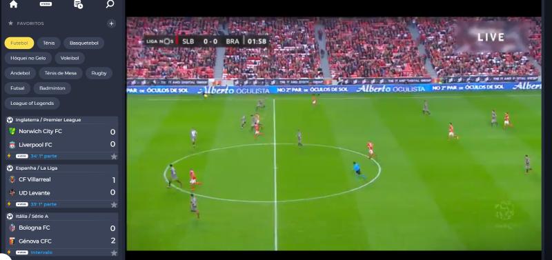 Ver Benfica Braga Online grátis. Assiste nos dispositivos móveis