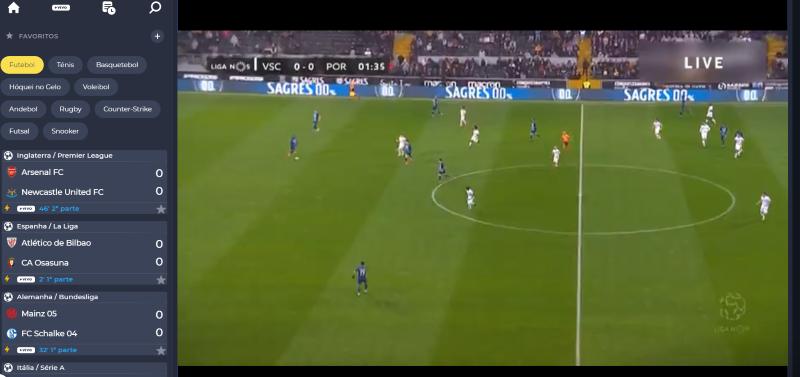Ver Guimarães Porto online grátis - Vê o jogo nos dispositivos móveis