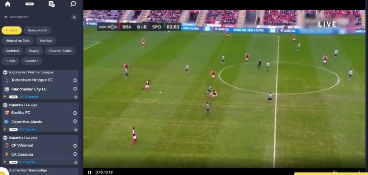 Braga Sporting Online Grátis. Assiste em qualquer dispositivo móvel