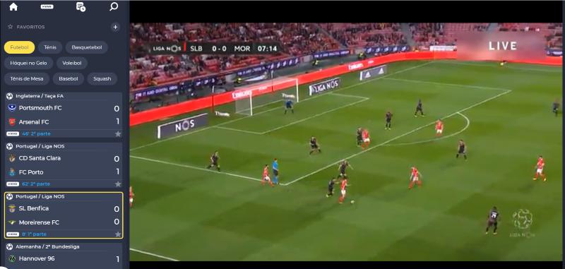 Ver Benfica Moreirense Online grátis. Assiste nos dispositivos móveis