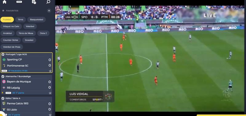 Sporting Portimonense online grátis. Assiste em qualquer dispositivo móvel