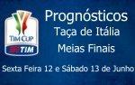 Prognósticos Taça de Itália - Meias Finais