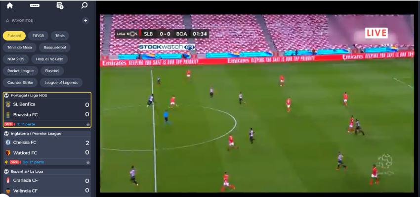 Ver Benfica Boavista Online grátis. Assiste nos dispositivos móveis