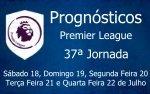 Prognósticos 37ª Jornada da Premier League - Inglaterra