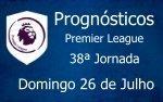 Prognósticos 38ª Jornada da Premier League - Inglaterra
