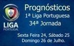 Prognósticos 34ª Jornada da Primeira Liga - Portugal