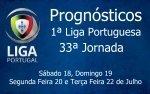 Prognósticos 33ª Jornada da Primeira Liga - Portugal