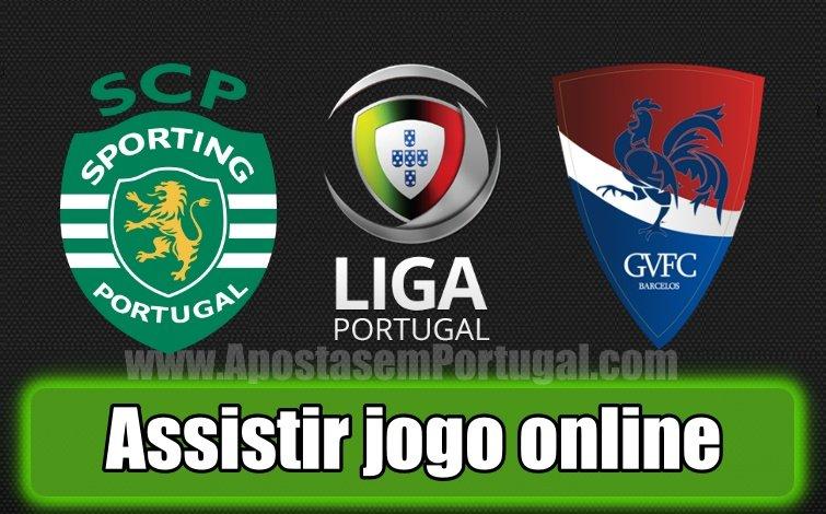 Assiste ao jogo entre o Sporting e Gil Vicente online totalmente grátis