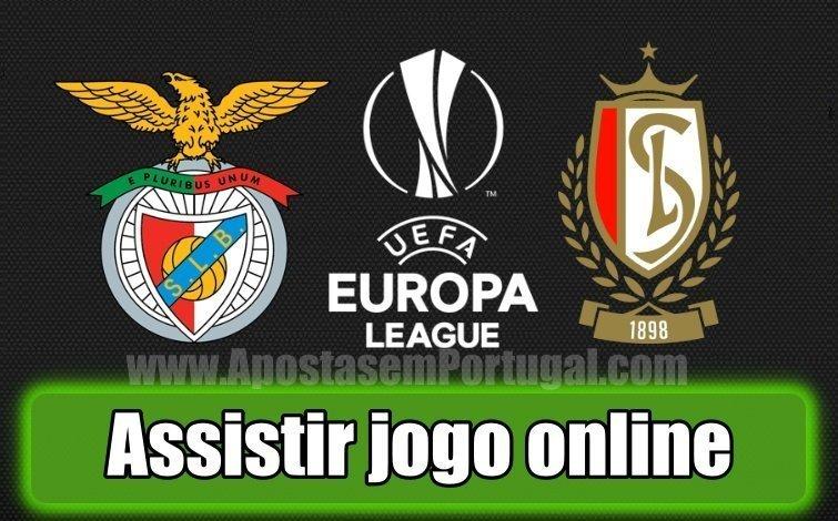 Assiste ao jogo entre o Benfica e St. Liege online totalmente grátis