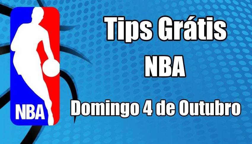 Prognósticos para Apostas NBA - Final - Domingo 4 de Outubro