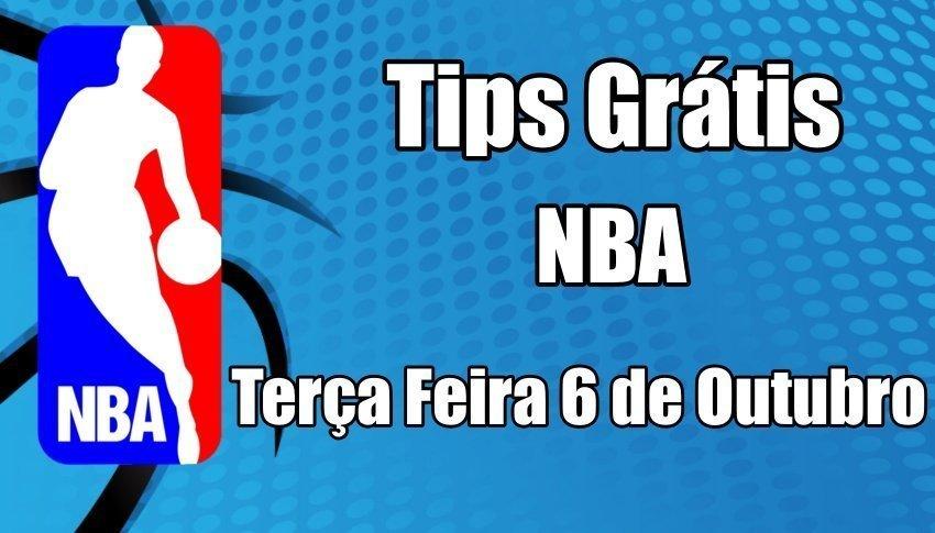 Prognósticos para Apostas NBA - Jogo 4 - Terça Feira 6 de Outubro