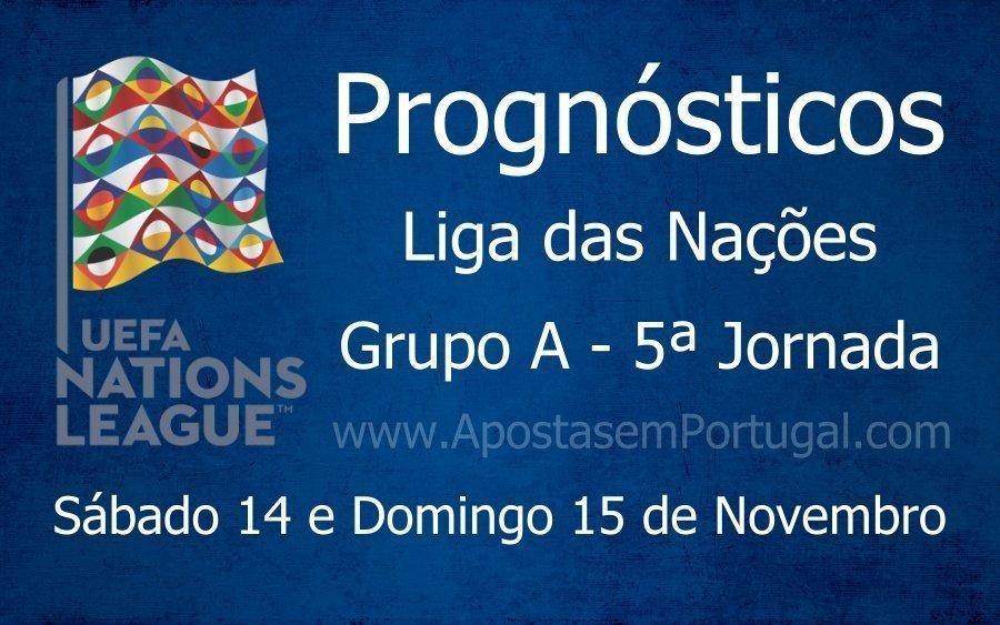 Prognósticos para a Liga das Nações - Grupo A - 5ª Jornada