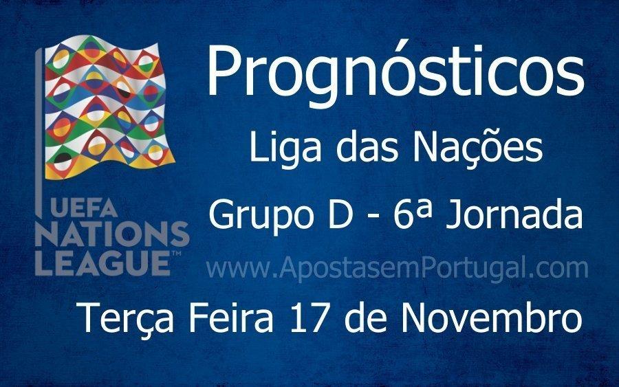 Prognósticos para a Liga das Nações - Grupo D - 6ª Jornada