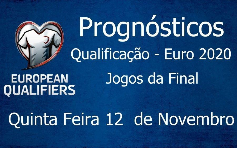 Prognósticos Qualificação do Campeonato da Europa - Final