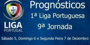 Prognósticos para a Primeira Liga Portuguesa - 9ª Jornada