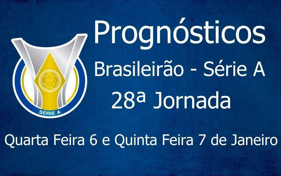 Prognósticos para a 28ª Jornada do Brasileirão Série A