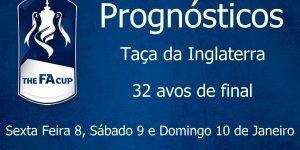 Prognósticos para a Taça de Inglaterra - 32 Avos de Final