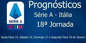 Prognósticos para a Série A - Itália - 18ª Jornada