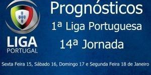 Prognósticos para a Primeira Liga Portuguesa - 14ª Jornada