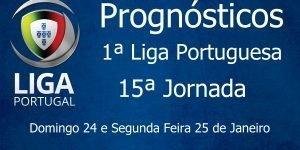 Prognósticos para a Primeira Liga Portuguesa - 15ª Jornada