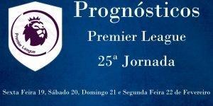 Prognósticos para a Premier League - Inglaterra - 25ª Jornada