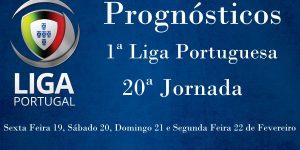 Prognósticos para a Primeira Liga Portuguesa - 20ª Jornada